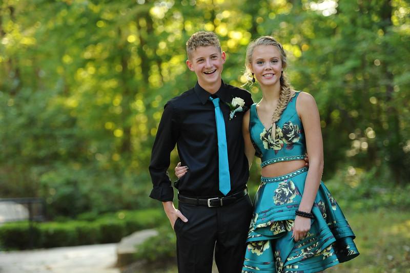 9-29-18 Bluffton HS Homecoming - Simon Derstine and Taylor Schwab - 10th grade-15.jpg
