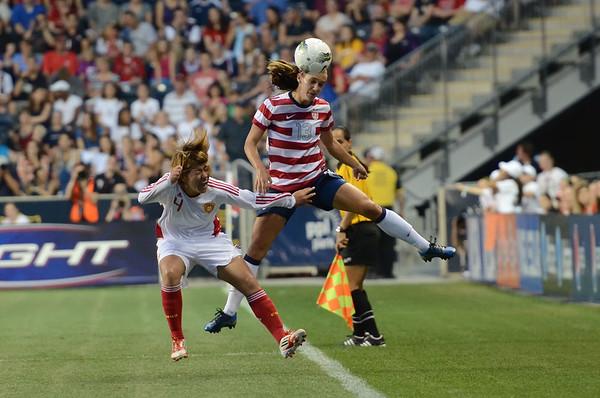 U.S.A  Women's National Soccer Team Vs China