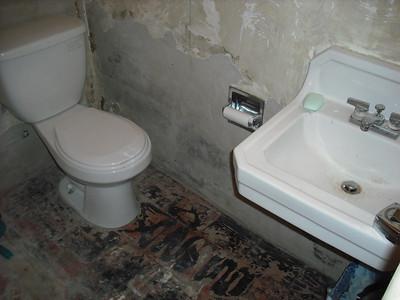 Bathroom Remodeling - Pre Reframing