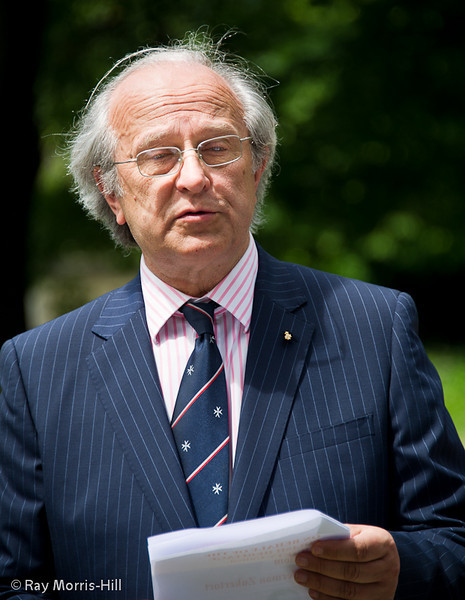 Dr Marek Stella-Sawicki, Chairman of the Polish Heritage Society in the UK