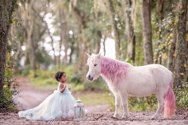 Allisa 1st Birthday Unicorn Dec 2018