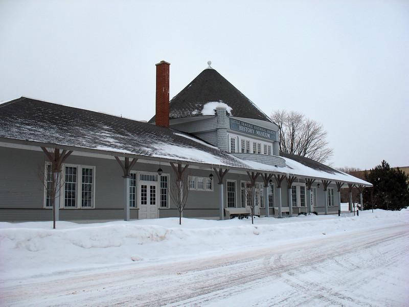 Chicago & West Michigan Rail Station (ca. 1892)