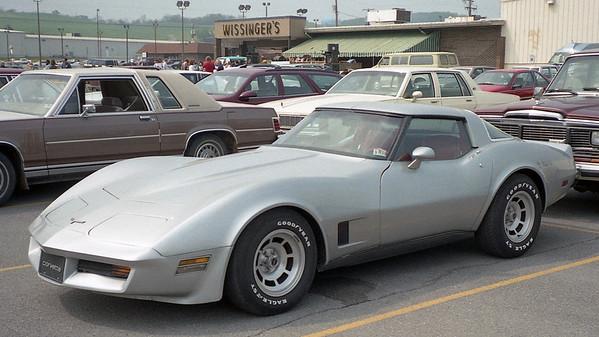1981 Chevrolet Corvette .  .  .
