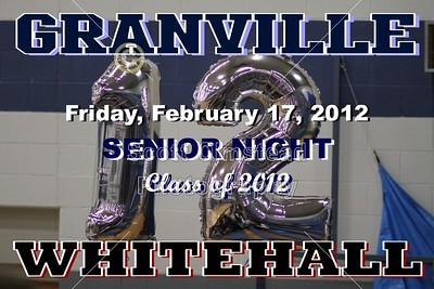 2012 Whitehall at Granville (02-17-12) VARSITY