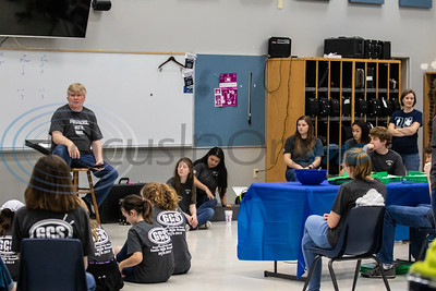 5/3/19 Grace Community School Drum Line Concert by Melanie Johnson