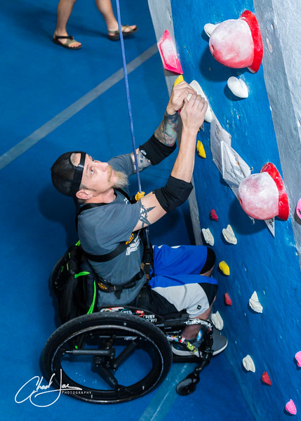 Catalyst Sports - Adaptive Climbing (May)