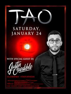 Justin Credible @ Tao Las Vegas 01.24.15