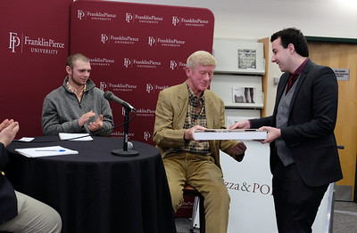 "Former Massachusetts Governor William F. Weld at ""Pizza and Politics"" 2-21-19"