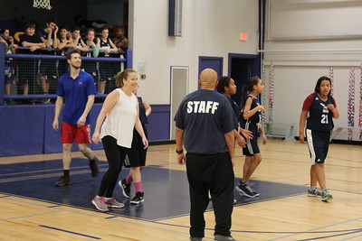 Faculty-Student Basketball Game