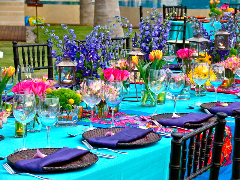 18Adults Rectangular Setting  Table Johanna Otero Events and Wedding design for VWP Top Vallarta Wedding Planner