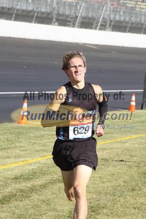 Boy's D3 Finish by JG - 2011 MHSAA LP XC Finals