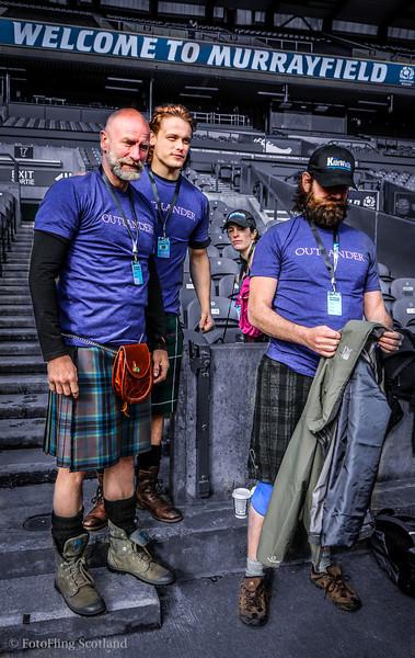 The Edinburgh Kilt Walk 2014