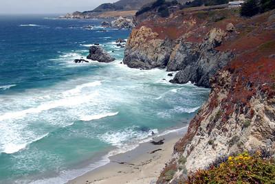 California Coast;  Moro Bay to Big Sur