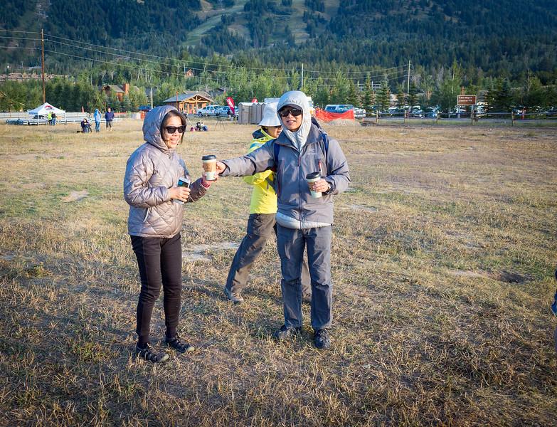2017 Solar Eclipse, THE Group, Teton NP