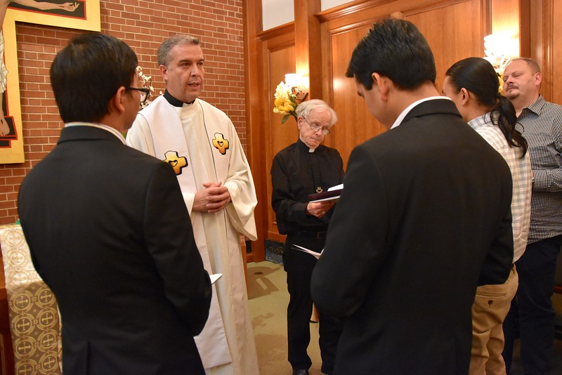 Fr. Carlos Luis talks about the Ministry of Lector