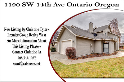1190 SW 14th Ave Ontario Oregon - Christine Tyler