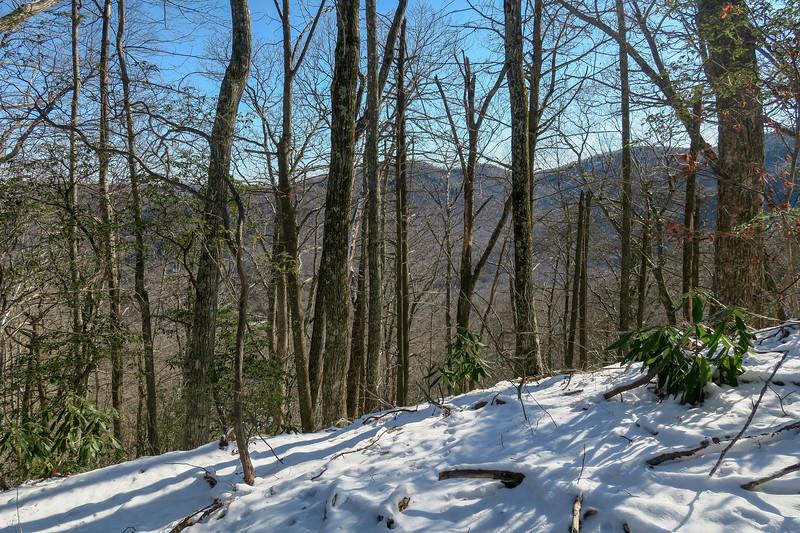 Green Knob Trail -- 3,850'
