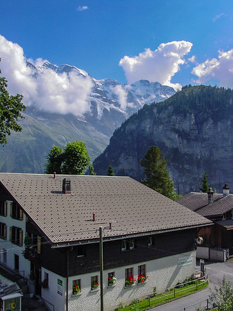 Gimmelwald - First Stay