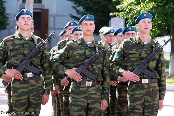 1182 VDV Artillery regiment and 107 VDV Air Defence regiment oath
