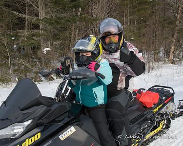 Snowmobiling 2021