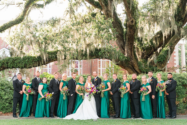 Sam + Coker | Downtown Conway Wedding