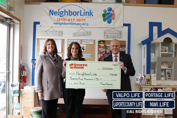 1st Source Bank Grants to NeighborLink 2020
