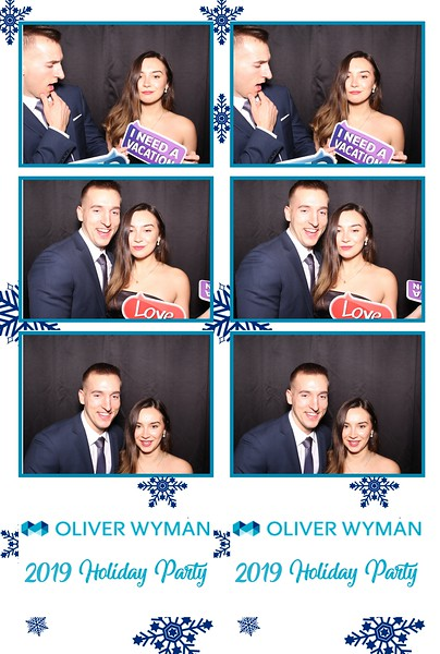 Oliver Wyman 2019 Holiday Party (01/12/19)