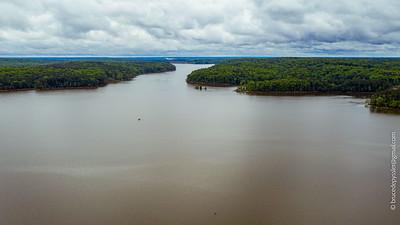 haw river at robeson creek + mermaid point ll april 30, 2020