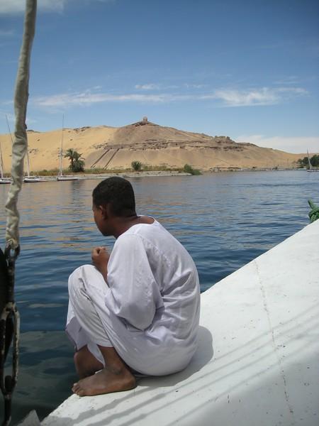 on the Nile near Assuan, Egypt