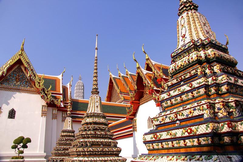 Wat Pho - Originally built in the 16th century as the royal temple of King Rama - Bangkok