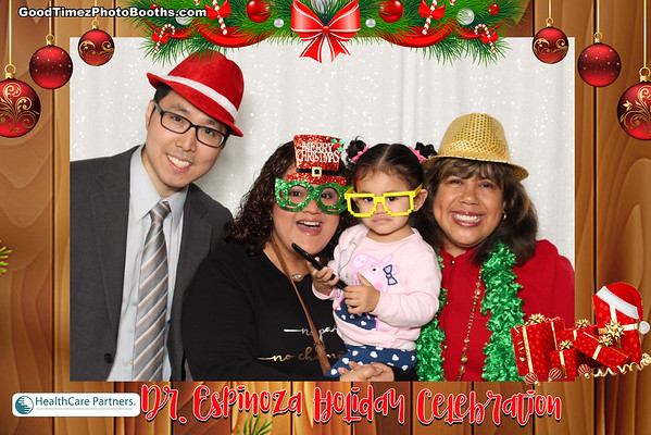 Dr. Espinoza Holiday Celebration