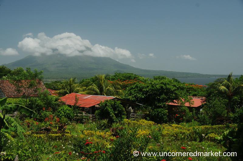View of Concepcion Volcano - Isla de Ometepe, Nicaragua