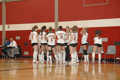 Girls Junior Varsity Volleyball - 2005-2006 - 2/2/2006 vs. Fruitport JG