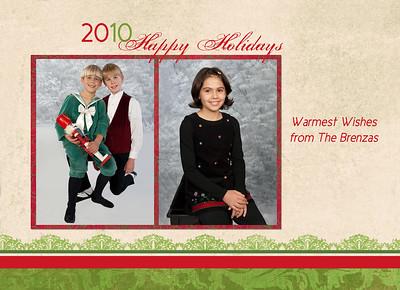 Press Printed 5x7 Holiday Cards