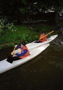 2000 Canoe Race at Tonbridge