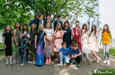 Clasa Bucuriei - final de an clasa a IV-a