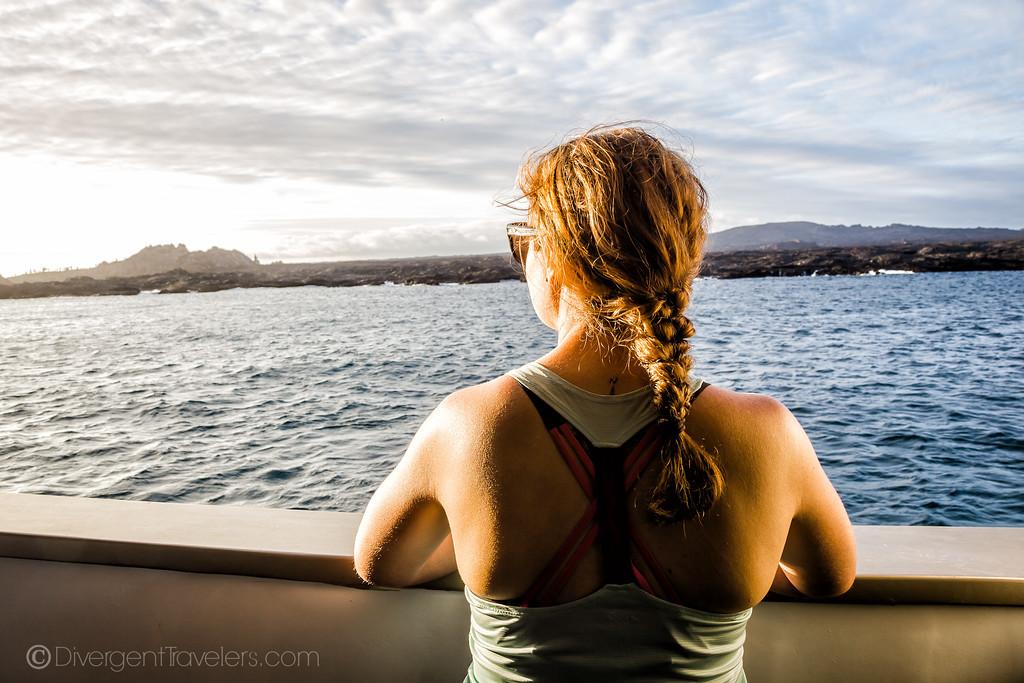 Lina Stock on a Galapagos Cruise