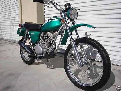 1971  Honda : SL 100