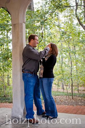 Lauren and Scott Color Engagement Photos