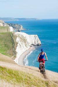 Dorset, UK - MTB at South coast Trail