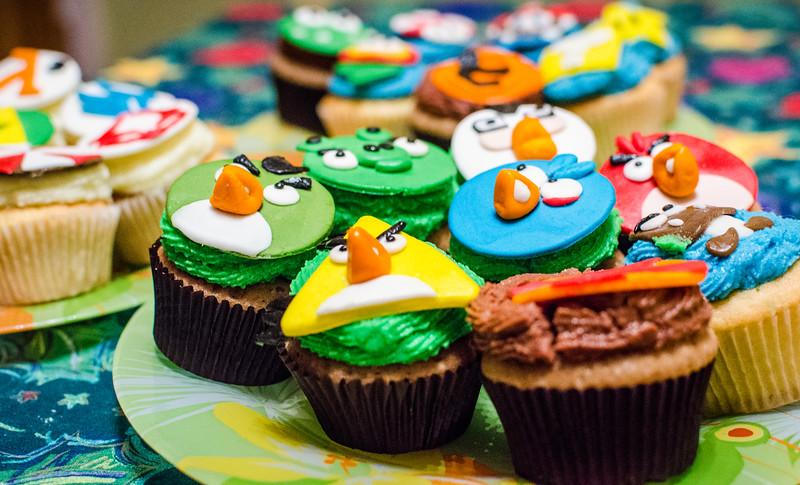 Gaming cupcakes