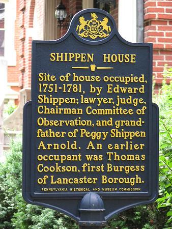 Shippen House Site