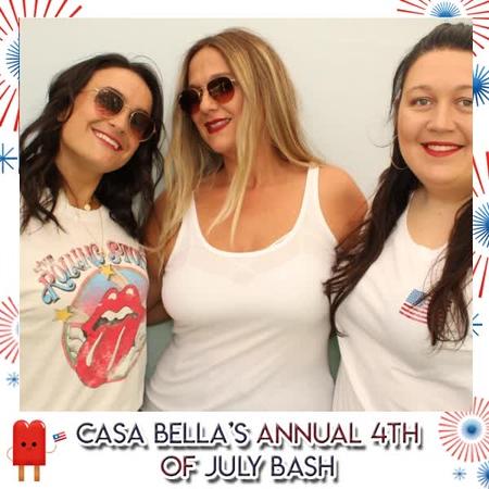 Casa Bella's Annual 4th of July Bash