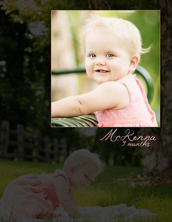 McKenna 9 Months