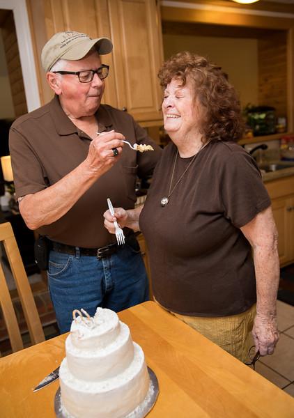 Badge Feeding Mam Cake while she is laughing.jpg