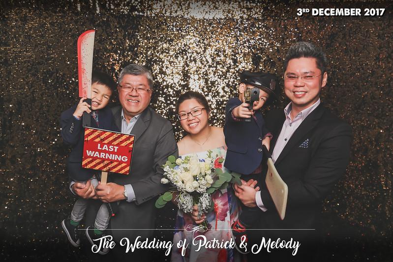 © Wedding of Patrick & Melody | © SRSLYPhotobooth.sg