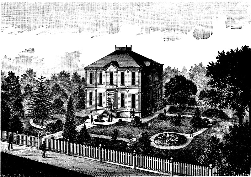 Widney Hall, USC, 1880