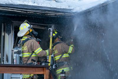 West Douglas Highway 67 House Fire