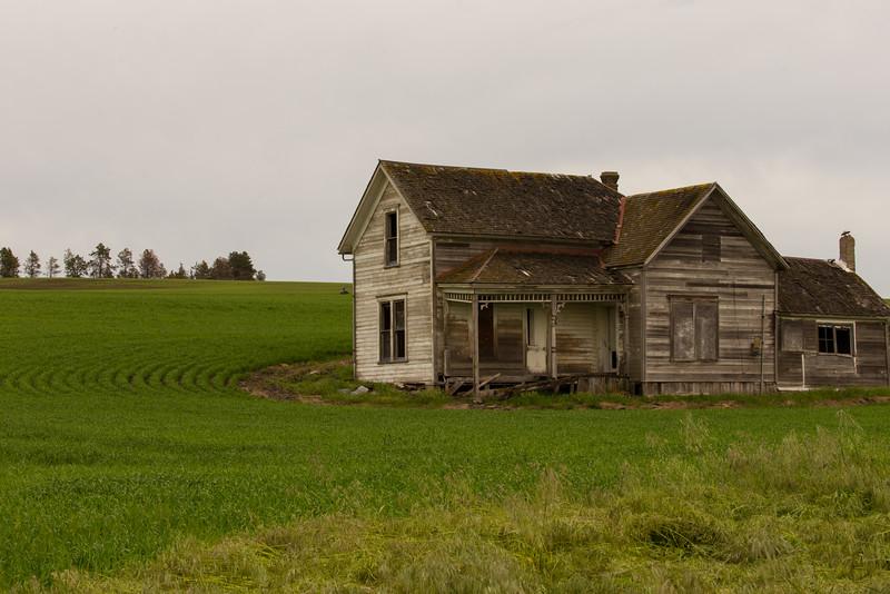 Abandoned Palouse Farm House