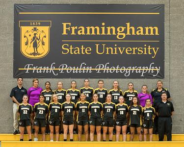 Framingham State women's soccer headshots 2017